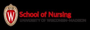 UW-Madison School of Nursing logo with crest