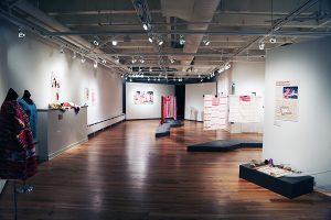 Interior shot of Ruth Davis Deign Gallery