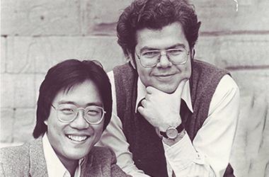 Yo-Yo Ma and Emanuel Ax portrait